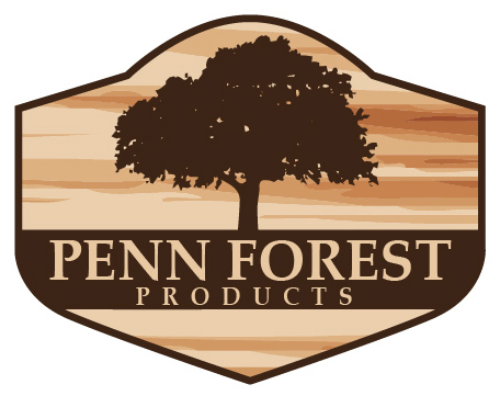 Penn Forest Products Logo Breanne DeMack Designs